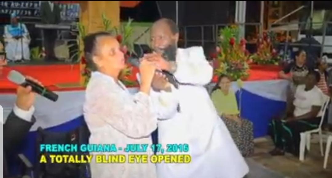 Totally Blind Eye Open