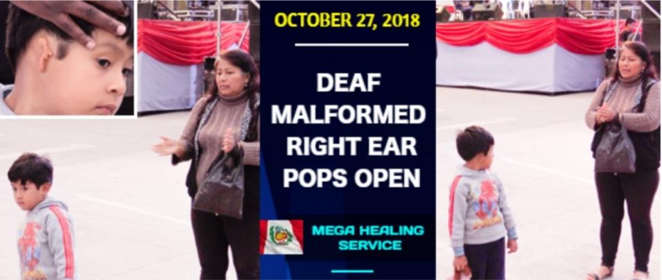 Totally Deaf Ears Open