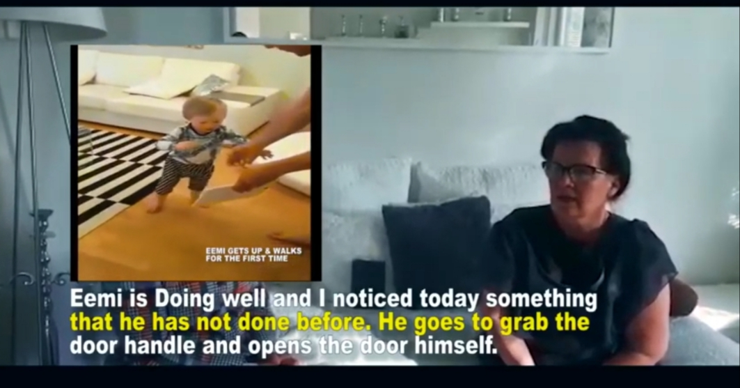 Totally Crippled Boy Walks